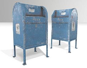 3D asset Postboxes