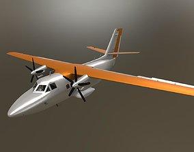 L410 Passenger Aircraft 3D model
