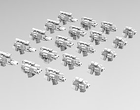 3D printable model Deathvigil Weapons