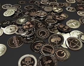 Coins 3D model