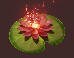 3D animated lotus