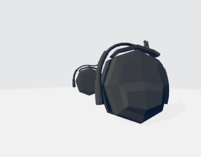 Audio Headset 3D model
