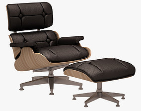3D asset Lounge Chair and Ottoman CHARLES EAMES
