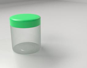 3D model Cream Container 4
