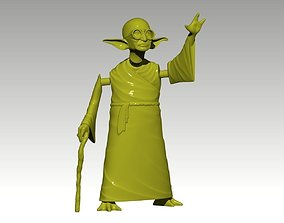 YoGandhi articulating 3D print model