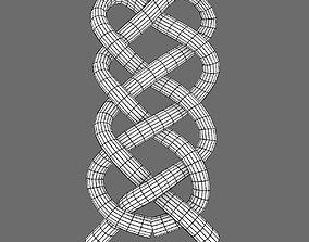 3D model celtic braid