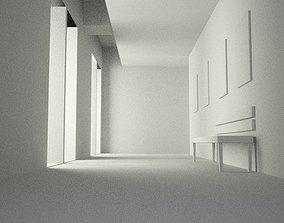 Interior Scene 3D model 3d