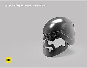 3D printable model Monk helmet - Non-dmg - Knights of 4