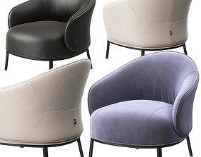 3D Botanic armchair by Natuzzi interior