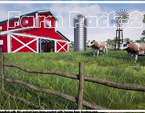 3D asset Farm Pack-2