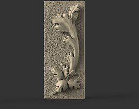 3D print model acanthus ornament