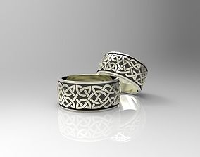 Celtaidd Celtic knots ring 3D print model