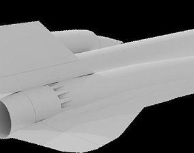 3D asset SR 71 Blackbird