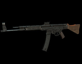 3D model German Assault Rifle STG44