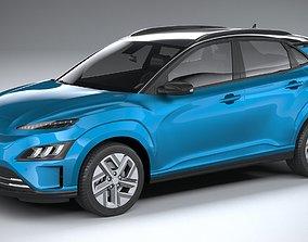 3D Hyundai Kona Electric 2021