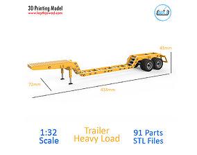 Trailer Heavy Load 3D print model