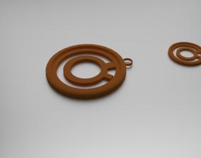 3D print model Conjunctions Pendant