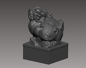 3D printable model sculptures Chinese Seal