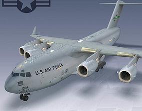 3D model USAF C-17 Globemaster III