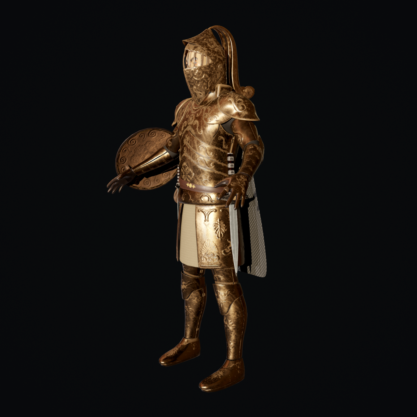 Knight Character Model