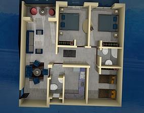BED ROOM STAR 3D model