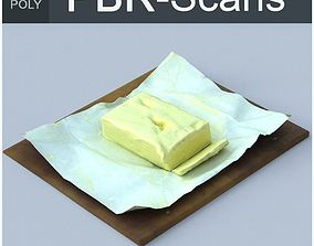3D model Butter Middle Poly