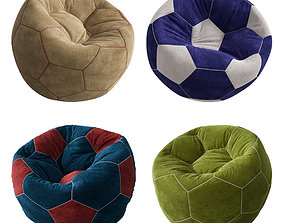 3D model Bean Bags Ball Set