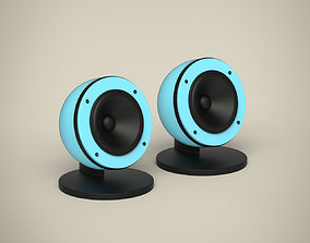 3D model Speakers loud
