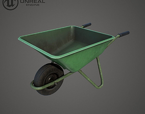 3D model realtime Wheelbarrow