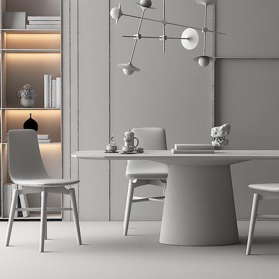 Dining room model 09