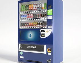 3D model Vending Machine 36 Button