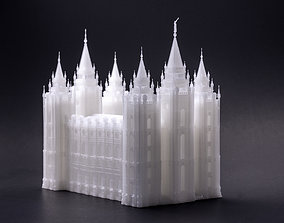 Salt Lake City Temple sla 3D printable model
