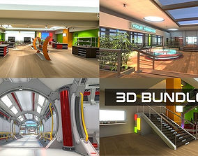game-ready 3D VR Bundle 02