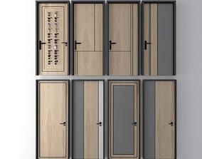 3D model Modern classic door series