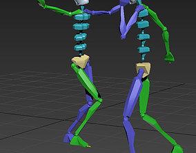 3D model dance 2