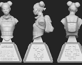 3D printable model ApexLegends Bust Lifeline