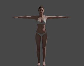3D asset Human Female