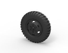 3D printable model Diecast Wheel from old truck