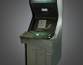 3D model realtime Arcade Cabinet - PBR Game Ready