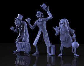 hitchhiking ghosts haunted 3D printable model