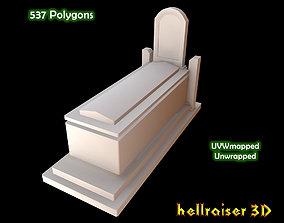 3D asset Grave 1