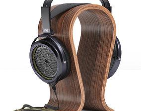 3D model Stax SR-009 BK Headphones
