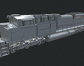 3D sd70 EMD-SD70ACe Locomotion