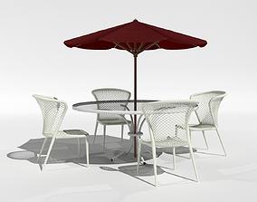 3D Outdoor Dinette