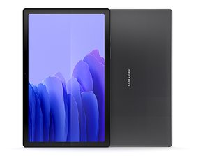 3D Samsung Galaxy Tab A7 Dark Gray