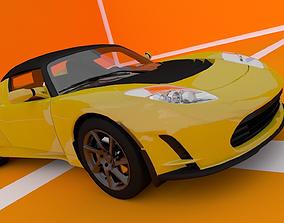 Tesla Roadster 3D