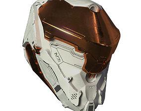 Si-Fi Helmet 3D