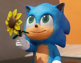 Baby Sonic 3D print model