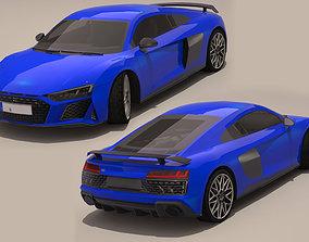 Audi R8 2020 3D model