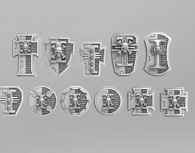 miniatures Deathvigil Power Shields 3D printable model